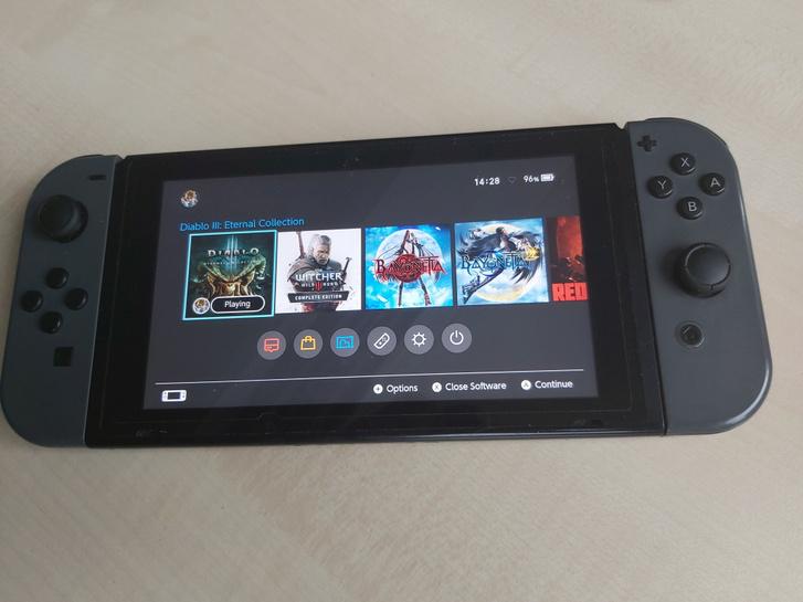 A Nintendo Switch még most is nagyon jól tartja magát a piacon (Fotó: Herpai Gergely)