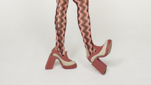 Bedőlt sarkú cipő lesz az új trend egy londoni tervező szerint