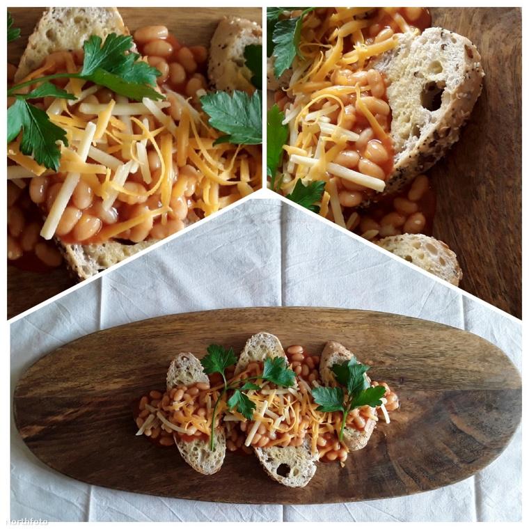 A bab, vagy a piritóson felszolgált bab beans on toast néven gyakran részét képezi a full English breakfast nevű reggelinek.
