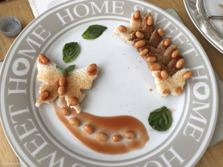 Az étel, amiről szó van, reggelire a legnépszerűbb a briteknél.