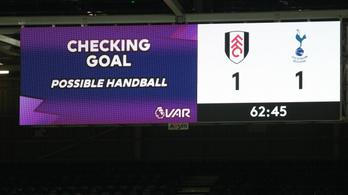 A videóbíró is kellett a Tottenham győzelméhez