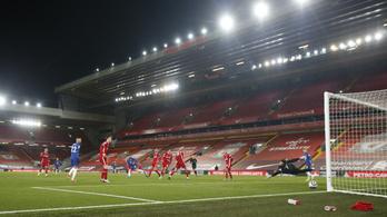 Történelmi mélységben a Liverpool, a Chelsea is nyert az Anfielden