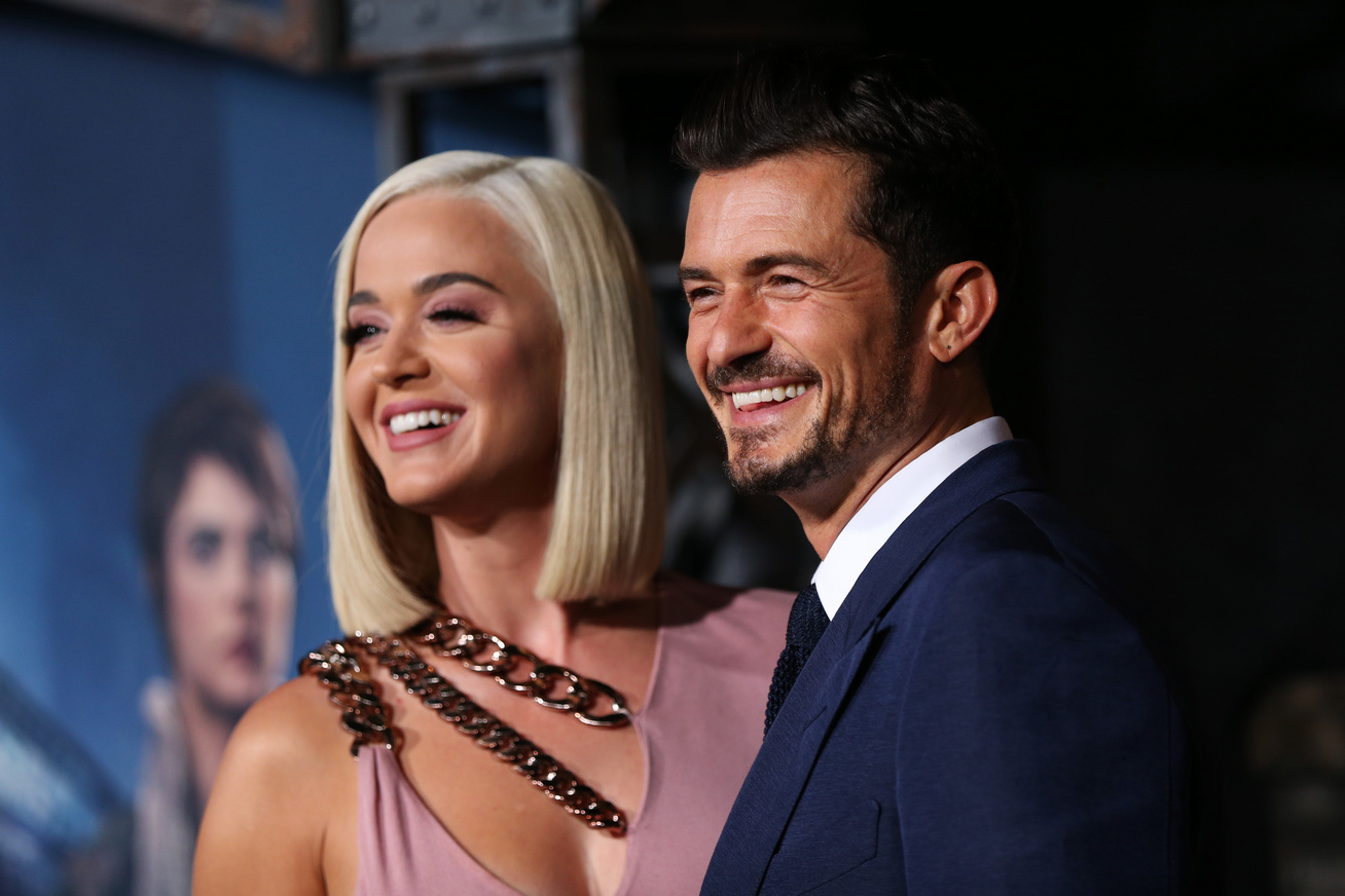 katy perry orlando bloom cover
