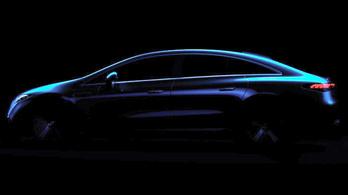 Megmutatták a Mercedes EQS szokatlan körvonalát