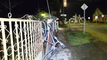 Először a kerítésen, aztán a rendőrökön akadt fent a berettyóújfalui kerékpártolvaj