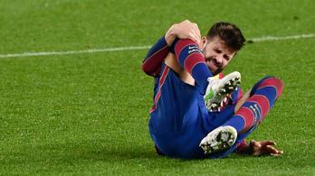 Ismét megsérült a Barcelona kupahőse