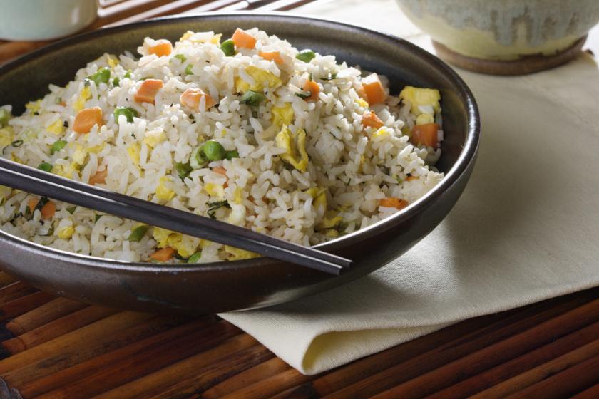 tojásos zöldséges süt rizs recept