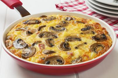 omlett gomba