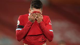 A Liverpool közelebb áll a kieséshez, mint a címvédéshez