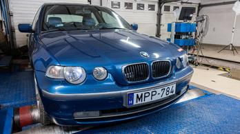 350 ezer kilométer, nem kímélve. Bírja a BMW 325ti?