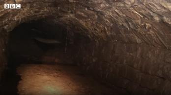 Eddig ismeretlen alagútrendszert fedeztek fel egy walesi városban