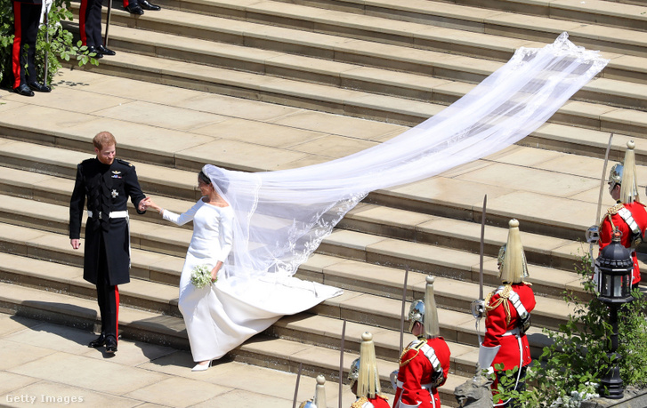 Harry és Meghan esküvője 2018. május 19-én