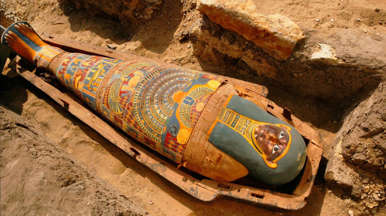 mumifikálás nyitó