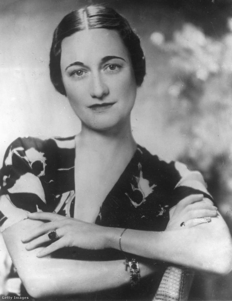 Wallis Simpson egyik legismertebb portréja 1936-ban készült.