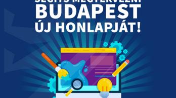 A budapestiek is segíthetnek fejleszteni a Budapesti Városháza honlapját
