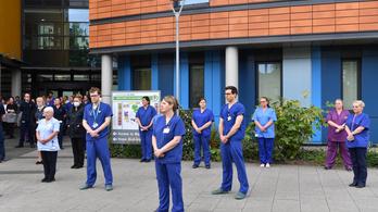 Sztrájkkészültségben a brit egészségügy az egy százalékos béremelés miatt
