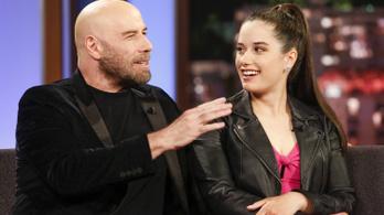 John Travolta lánya Budapesten leli meg Csodaországot