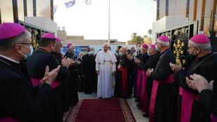 Ferenc pápa: a szeretet a mi erőnk