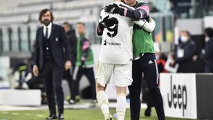 Ronaldo csak csere volt, így is rangadót nyert a Juventus