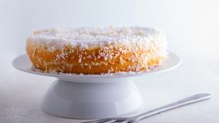 Mai fura, de finom: mézes-pasztinákos kókuszssüti
