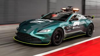 Ez lesz az F1 új biztonsági autója