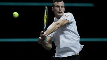 Nem sikerült a bravúr Fucsovics Mártonnak a rotterdami döntőben