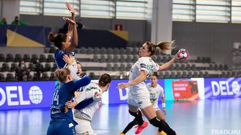 Három góllal kikapott a Fradi a női kézi-BL nyolcaddöntőjének első meccsén
