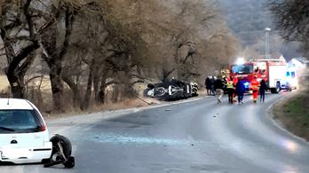 Ismét karambolozott a vezető, aki már korábban is okozott halálos balesetet