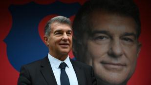 Hivatalos: újra Joan Laporta lett a Barcelona elnöke