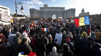 Tüntetéshullám indult a vesztegzár hírére Romániában