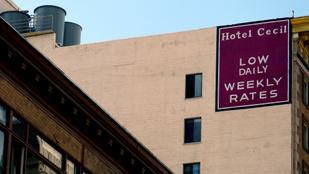 Egészen hülye tippeket is kapnak a rendőrök a Los Angeles-i horrorszállodáról