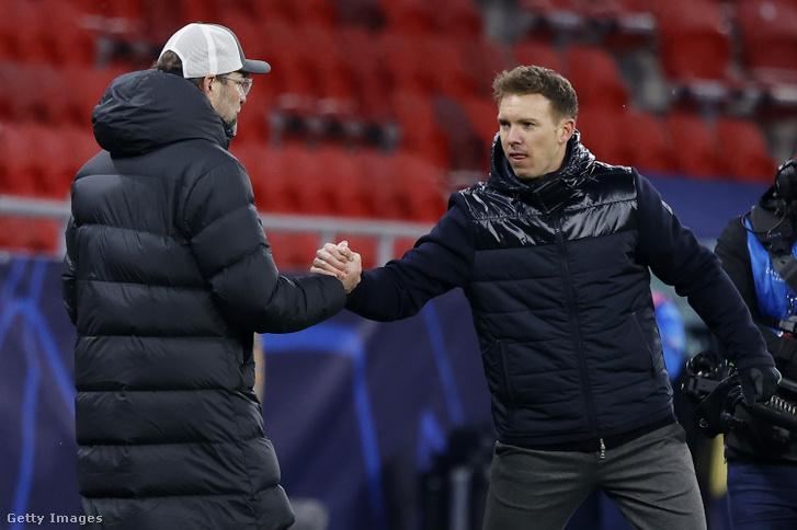 Jürgen Klopp és Julian Nagelsmann