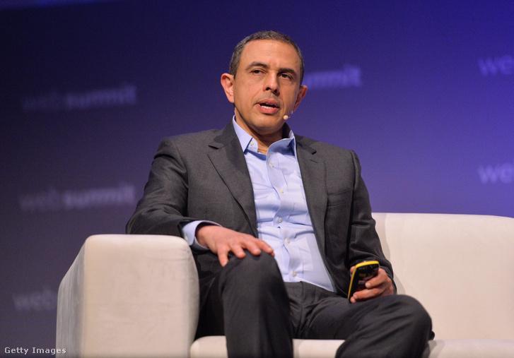 Ali Rezai, a Rockefeller Idegtudományi Intézet munkatársa 2019. november 7-én