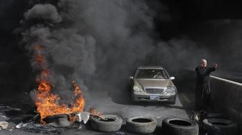 Tüntetők veszélyeztetik a koronavírusos betegek életét Libanonban