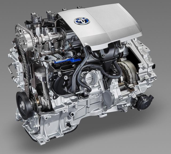 A Toyota Prius Atkinson ciklusban működő szívómotorjának csúcshatásfoka a veszteséghő visszanyeréssel együtt 42 százalék