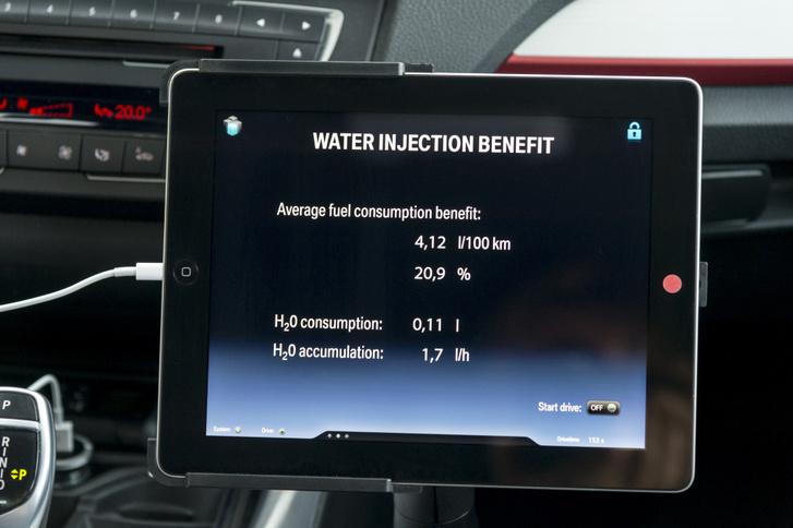 Akár 20 százalékos üzemanyag-megtakarítás is elérhető lenne vízbefecskendezéssel, bizonyítja a BMW prototípusa