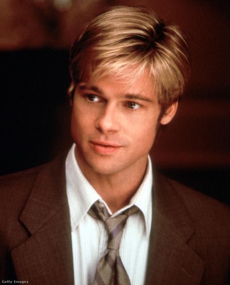 Brad Pitt az 1998-as, Ha eljön Joe Black című filmben, 35 évesen.