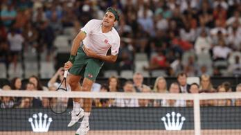 Federernek alig vannak elvárásai magával szemben