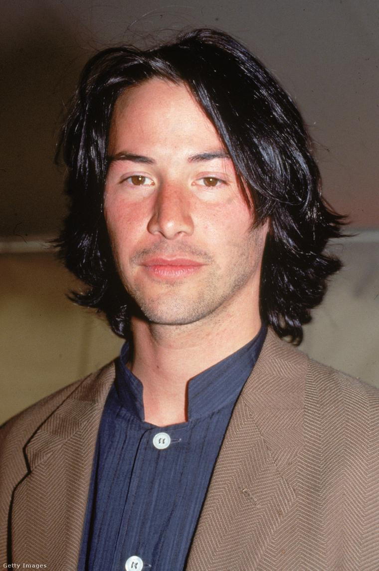 Keanu Reeves az Independent Spirit Awardson, 1993-ban, 29 évesen.