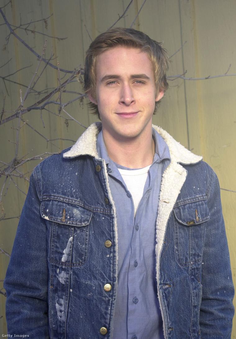 Ryan Gosling 2001-ben, a Sundance filmfesztiválon, 20 évesen.