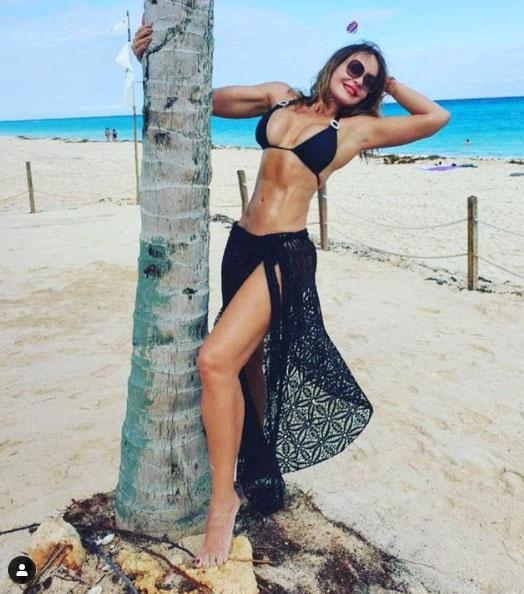 Gabriela Spanic mindig is sokat edzett, ez a titka, hogy ilyen remekül néz ki az alakja.
