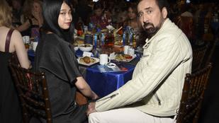 Fotók Nicolas Cage esküvőjéről: a menyasszony feketében volt