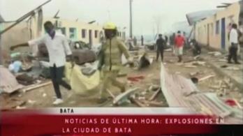 Százan meghaltak, és félezren megsérültek az egyenlítői-guineai robbanásban