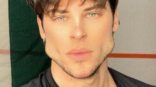 Ez az olasz férfimodell rágóizomra gyúr, hogy jóképűbb legyen, látványos eredménnyel