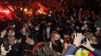 Tömegek ünnepelték Belgrádban Djokovics új rekordját