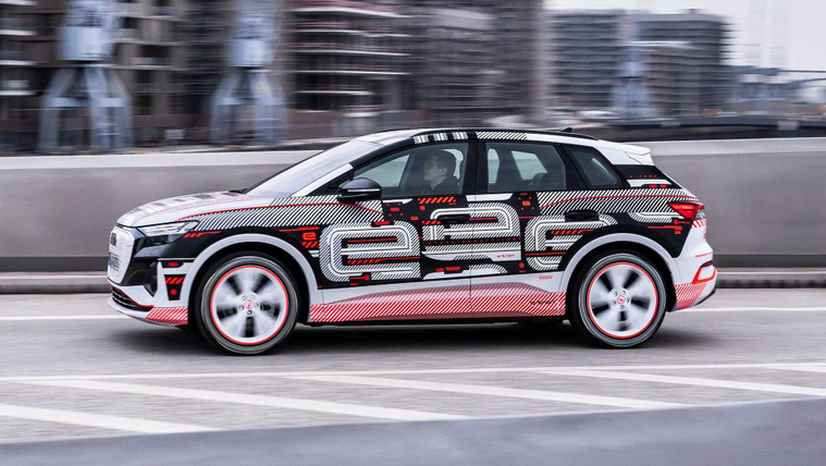 Majdnem kész az Audi Q4 E-tron, majdnem teljesen meg is mutatták