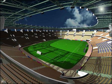 A Fehér útra már Deutsch Tamás sportminiszter is stadion terveztetett
