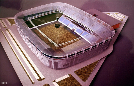 Az MLSZ első lépésben ezekkel a tervekkel állt el a Fehér úti stadionra