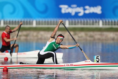 Vajda Attila olimpiai bajnokként