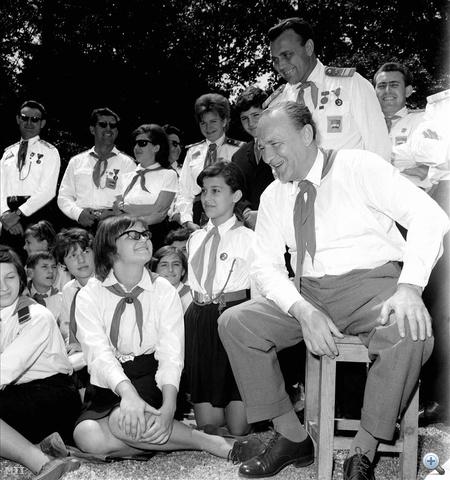 1966. június 8. A csillebérci Úttörő Nagytáborban.